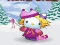 Игра Hello Kitty Winter Dress-Up  онлайн - игри онлайн