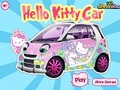 Игра Game Hello Kitty: Hello Kitty Car  онлайн - игри онлайн